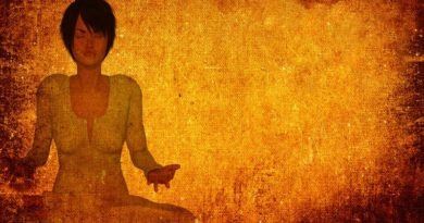 Meditation controls stress; helps in weight loss