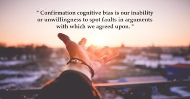 Confirmation Bias: Birds of a Feather…