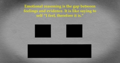 The Unreasonableness of Emotional Reasoning Bias