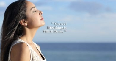 Correct Breathing is a Natural Detox
