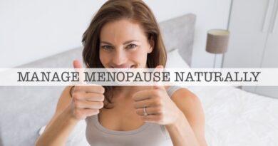 Manage Menopause Naturally