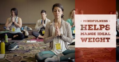 Mindfulness can help with Weight Management