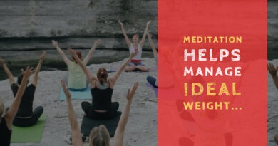 Meditation can help with Weight Management