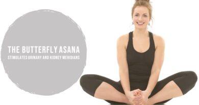 The Butterfly asana/ Baddha Konasana/ Titli Asana