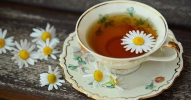 Chamomile tea is highly recommended by the Ayurvedic and homeopathic practitioners.