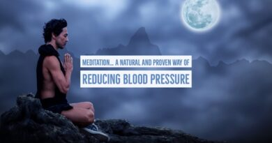 Lower blood pressure with Meditation