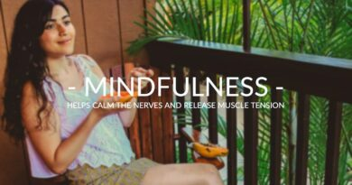 Mindfulness can help release muscle tension