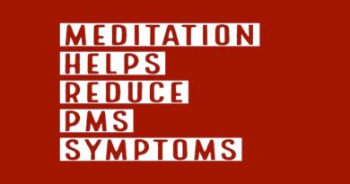 Meditation helps reduce PMS symptoms