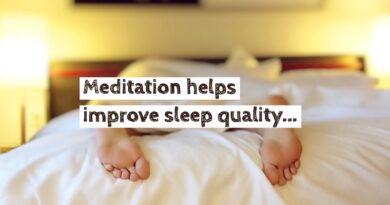 Meditation helps overcome sleep disorders