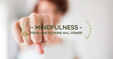 Being mindful can help increase will–power
