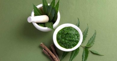 Neem is a good example of how nature holds both the problem and the possible cure.