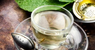 Sage Tea - rich in anti-inflammatory and antioxidant compounds